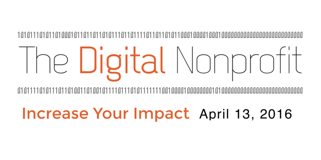 The Digital Nonprofit 2016 banner