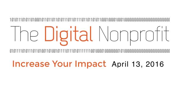 The Digital Nonprofit 2016 banner