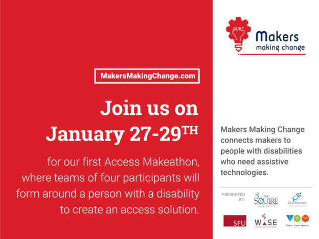 Access Makeathon poster